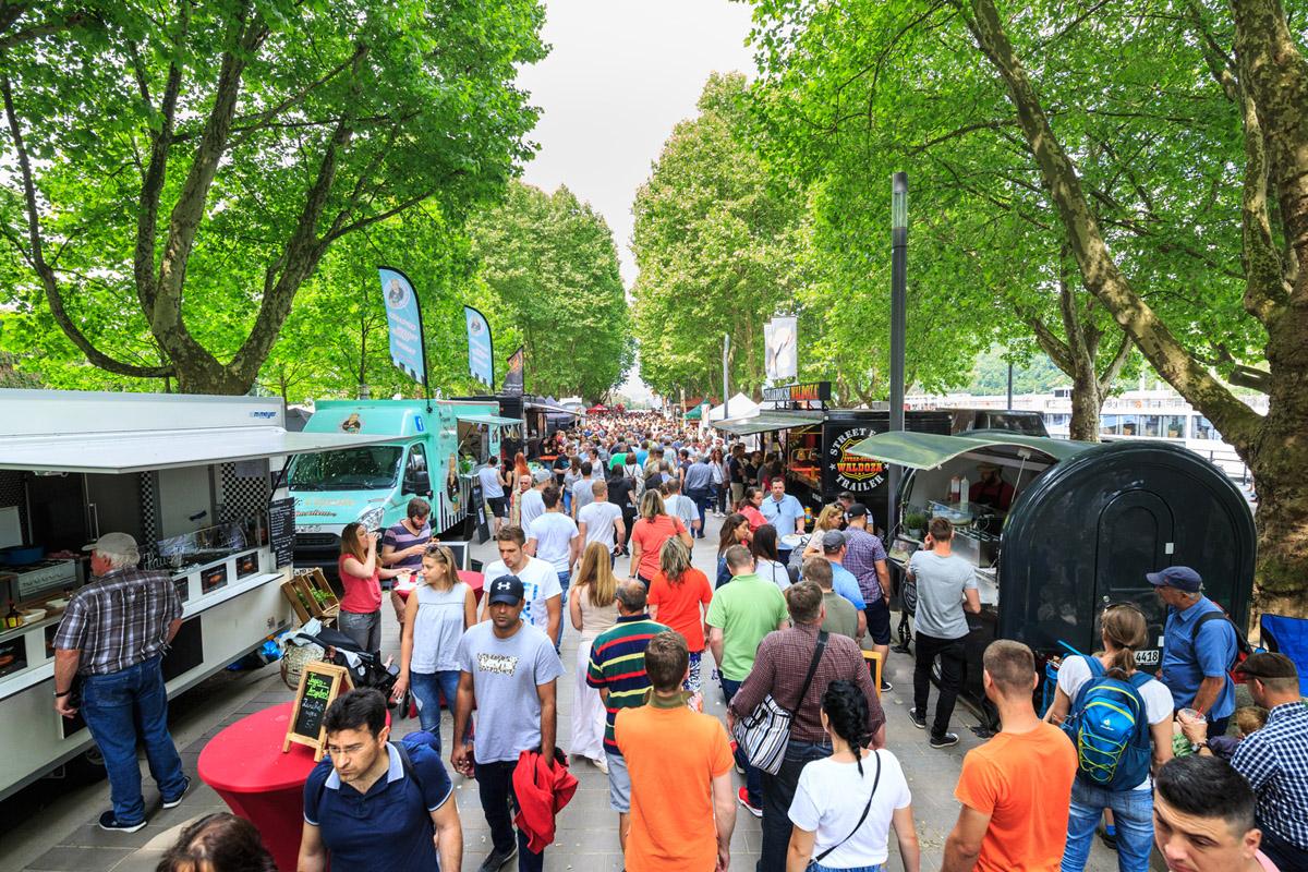Weinheim: Street Food Tour im Weinheim - großes Eventwochenende