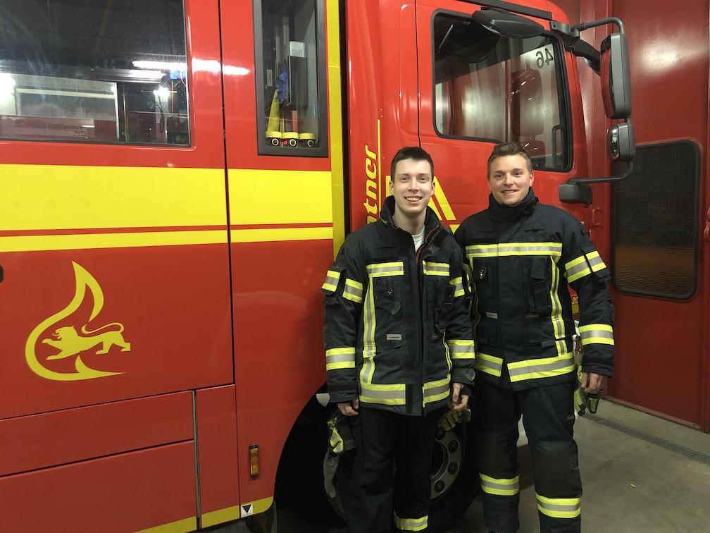 50 km zu Fuß in Feuerwehruniform durch den Odenwald