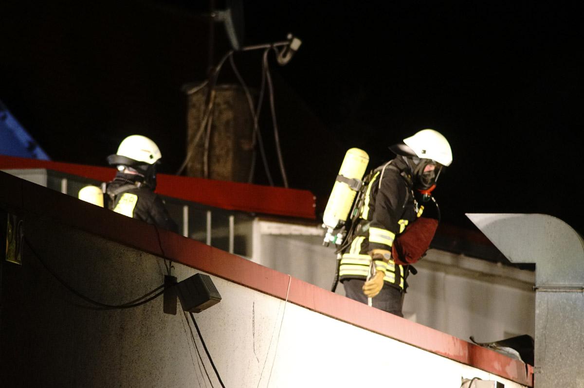 Ilsfeld: Terassenbrand in Gaststätte - 50 000 Euro Schaden (mit Fotostrecke)
