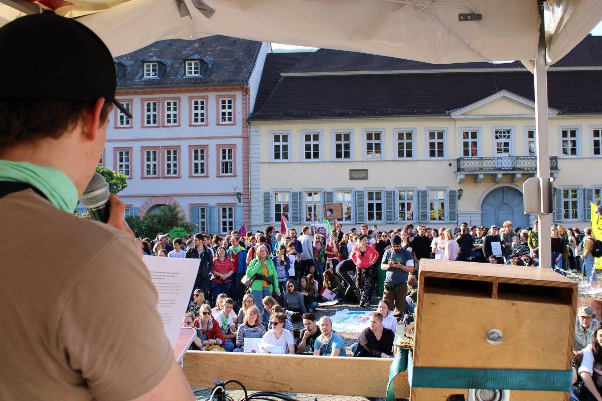 Bündnisrede am Karlsplatz