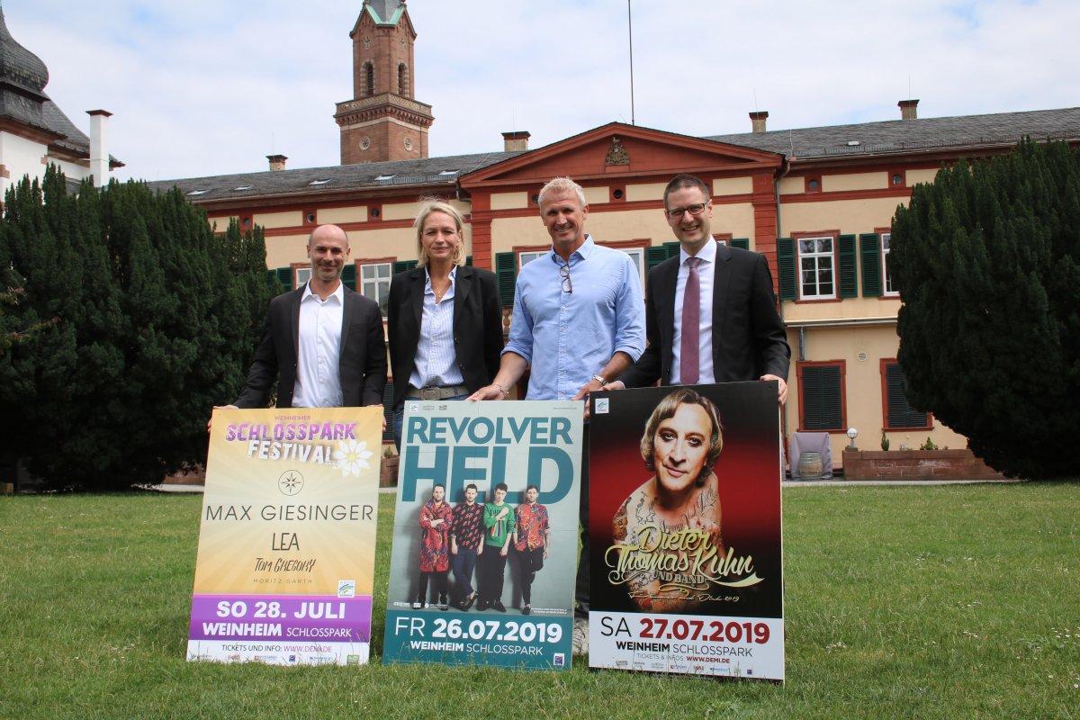 Weinheim: Drei Tage Festival im Schlosspark