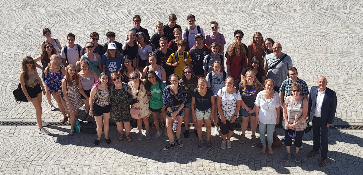 """Schwetzingen: """"Schüleraustausch des Hebel-Gymnasiums mit den USA"""