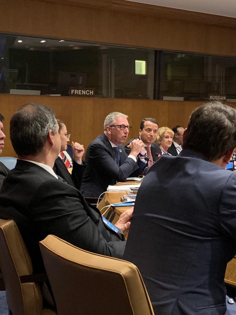 Bei UN-Konferenz in New York: Mannheim als Referenz-Modell zur Umsetzung der Nachhaltigkeitsziele in Städten vorgestellt