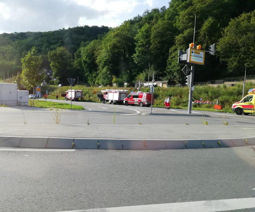 Schriesheim: Branichtunnel aktuell wegen Feuerwehreinsatz gesperrt