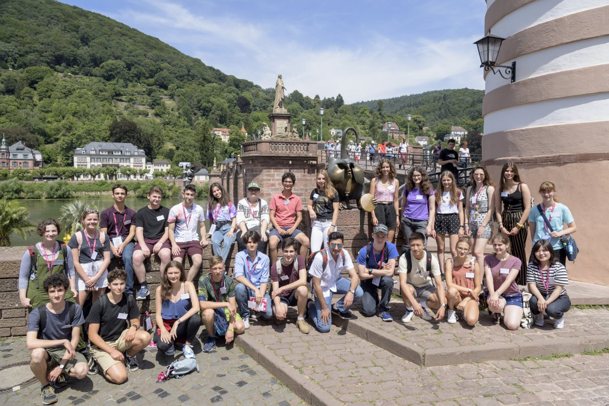 Junge Wissenschaftler aus aller Welt in Heidelberg