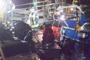 Heidelberg: Sinkendes Motorboot auf dem Neckar