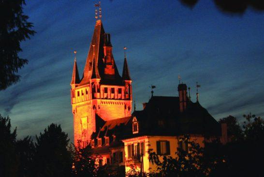 Im Fackelschein durch die Weinheimer Altstadt
