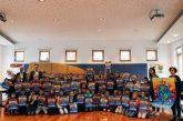 """""""Frieden braucht Mut"""" – Schülerinnen und Schüler der Klassen 4a und 4b der Schillerschule Nußloch sind die Sieger des Plakatwettbewerbs Volkstrauertag 2019"""
