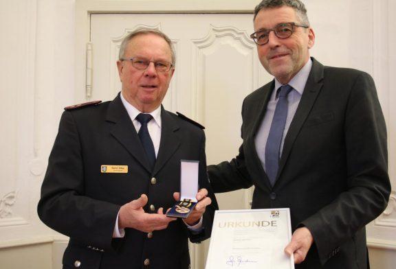 Weinheim: Goldmedaille statt altes Eisen - hohe Auszeichnung für Dittes