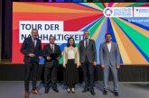 Mannheim: Tour der Nachhaltigkeit des Bundesministeriums für wirtschaftliche Zusammenarbeit und Entwicklung in Mannheim gestartet