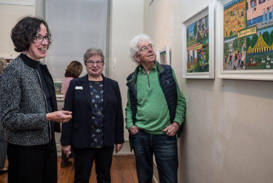 Weinheim: Posthum-Ausstellung für die kürzlich verstorbene Künstlerin Marga Müller im Museum der Stadt Weinheim bis 19. April
