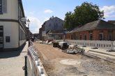 Schwetzingen: Karlsruher Straße - Die Baustelle wechselt am 11. Juni in den zweiten Bauabschnitt