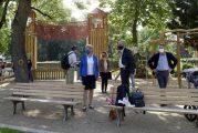 Mannheim: Lameygarten und Lauersche Gärten in den Quadraten R 7 und M 6 laden seit heute wieder zum Verweilen und Spielen ein