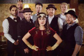 Mannheimer Swing-Band mit Jazz-Preis-Trägerin Franziska Schuster am Samstag, 18. Juli im Weinheimer Schlosshof