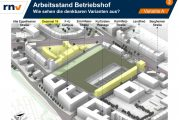 Heidelberger Betriebshof: Stadt und rnv arbeiten zwei Varianten für Neubau am alten Standort aus