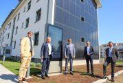 Blue_village_Franklin: Landesumweltminister Untersteller besucht Mannheimer Modellprojekt SQUARE zu energieeffizientem Wohnen und nachhaltiger Mobilität