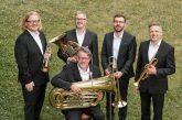 Die Rotary Brass Band zeigt am 23. August im Weinheimer Schlosshof, wie vielseitig Blechbläser-Musik sein kann – Erlös für einen guten Zweck