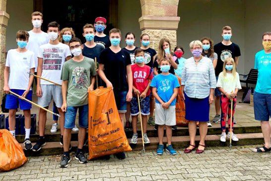 Mannheim-Wallstadt: In den Sommerferien den Stadtteil rausgeputzt