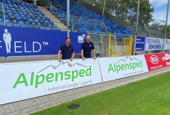 Die Alpensped GmbH bleibt Business Club Partner des SV Waldhof Mannheim