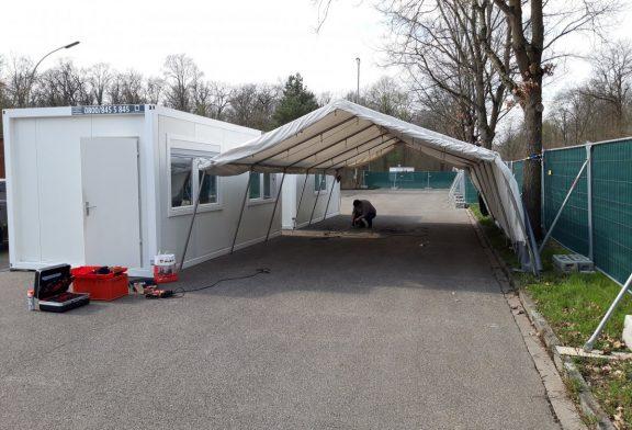 Nach knapp sechs Monaten Betriebszeit: Corona Drive-In in Schwetzingen ist abgebaut