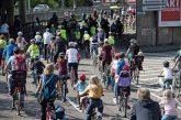 Kinder-Fahrrad-Demo, die KIDICAL MASS, in Heidelberg am 20. September