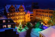 Schloss Heidelberg im November und Dezember