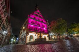 Weinheim beginnt zu leuchten