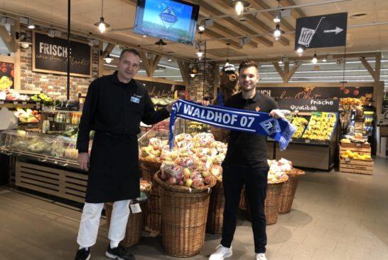 Edeka Scholz ist auch weiterhin Business-Club Partner des SV Waldhof Mannheim 07 und unterstützt damit auch weiterhin unsere Buwe