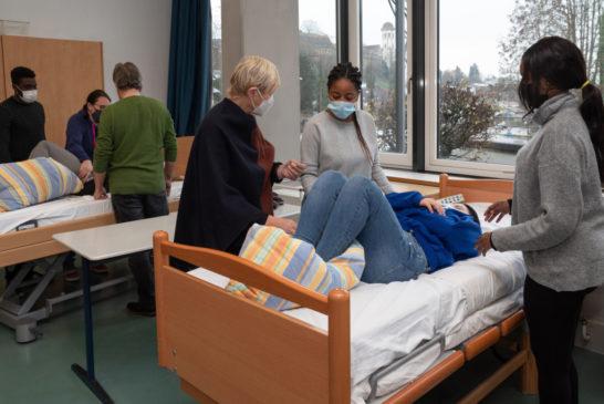 Erfolgreicher Start der generalistischen Ausbildung an den Pflegeschulen in Trägerschaft des Rhein-Neckar-Kreises
