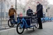 Neue eCargobikes in Mannheim - das VRNnextbike Fahrradvermietsystem wird erweitert