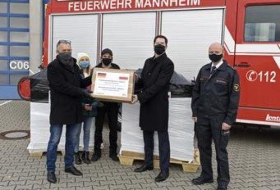 Mannheim unterstützt polnische Partnerstadt Bydgoszcz bei der Bekämpfung der Corona-Pandemie