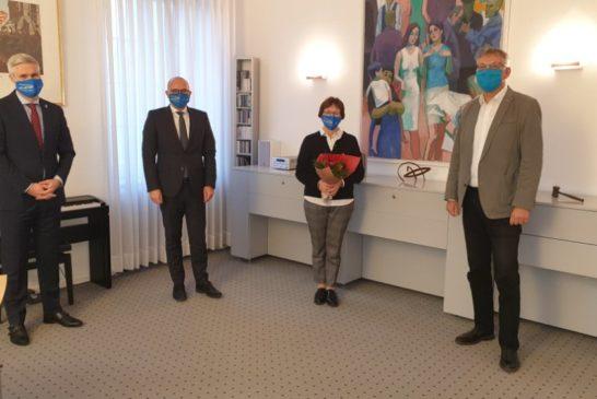 Nach über 46 Jahren in Schwetzingen ist Schluss:Ursula Richter in den Ruhestand verabschiedet