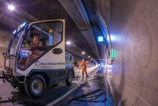 Straßentunnel im Rhein-Neckar-Kreis müssen regelmäßig gereinigt und gewartet werden Wartungstermine im Internet abrufbar