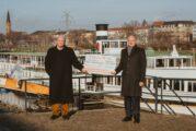 """Museumsschiff """"Mainz"""" bleibt in Mannheim - Stiftung der Sparkasse Rhein Neckar Nord spendet 5 000 Euro für Sanierung"""
