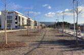 Bahnstadt: Erste Halbzeit der Bauarbeiten an der Pfaffengrunder Terrasse abgeschlossen  Bauarbeiten für neuen Platz im Zeitplan / Erste Bäume sind gepflanzt / Großteil folgt ab April 2021