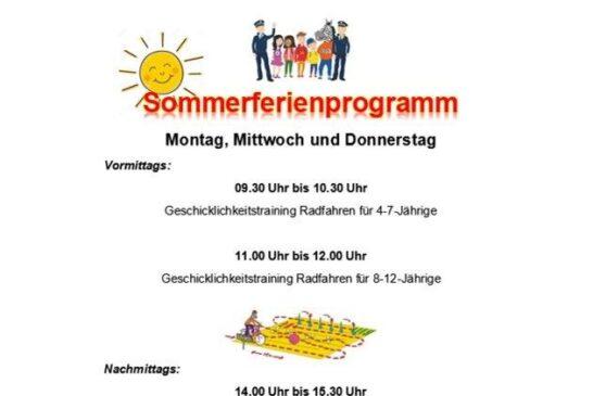 Radfahrtraining Jugendverkehrsschule Mannheim