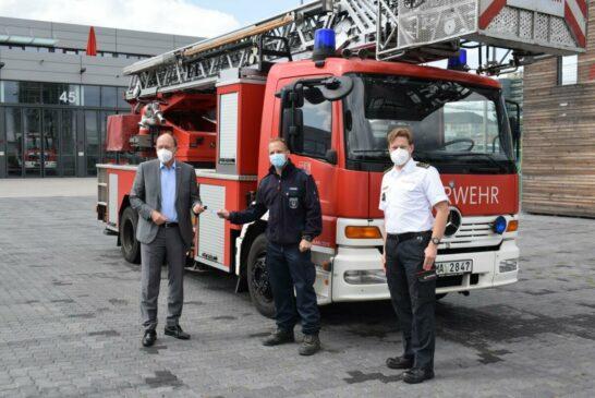 Mannheim unterstützt Feuerwehr im Ahrtal nach Hochwasserkatastrophe