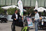 Für eine klima- und familienfreundliche Stadt Mannheim: Cargobike Roadshow stellt Lastenräder als alternative Mobilitätsform vor
