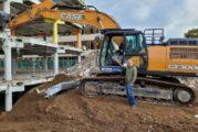Schwetzingen: Abriss der alten Schimper-Schule ist in vollem Gange