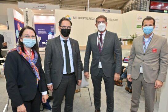 Expo Real 2021_Ram, Ministerialdirektor Kleiner, BGM Grötsch und Dr. Bourdon_MRN