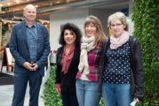 Kulturstiftung Rhein-Neckar-Kreis: Als neue Herbststipendiatin lebt und arbeitet derzeit die Malerin Mashi Changizi aus Montpellier im Kommandantenhaus in Neckargemünd-Dilsberg