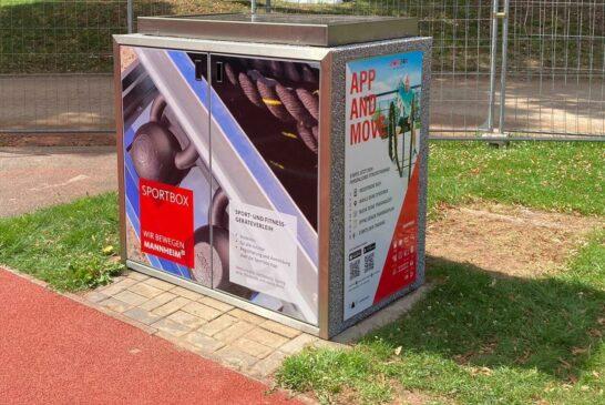 """Mannheim: Abschließendes Special von """"Sport im Park"""" – Vorstellung der Sportbox im Unteren Luisenpark"""