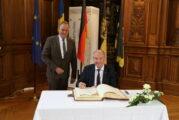 Schwedischer Botschafter trug sich in das Goldene Buch der Stadt Heidelberg ein