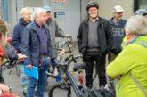 Gemeinsame Tour mit dem Rad durch die Stadt