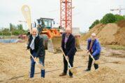 Mannheim: Baustart der Grundschule auf Spinelli